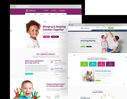 AdoptPress – Child & Pet Adoption Charity HTML Template