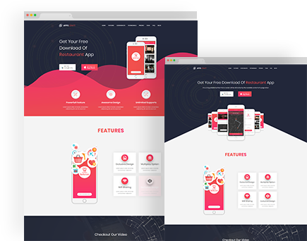 Apps Craft – App Landing Page WordPress Theme