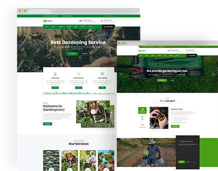 Bagan – Lawn & Garden Landscaping HTML Template