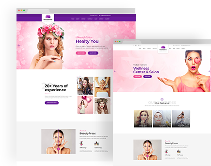 BeautyPress – Beauty Spa Salon Wellness Html Template