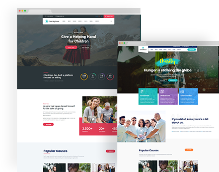 CharityPress – Charity Fundraising HTML Template