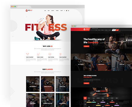 Gemvast – Gym Fitness Club Multi, Onepage Html template