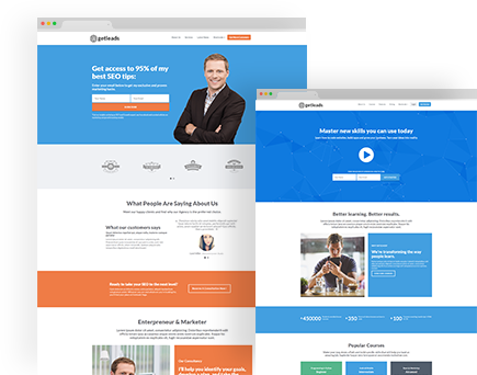 Getleads High-Performance Landing Page WordPress Theme