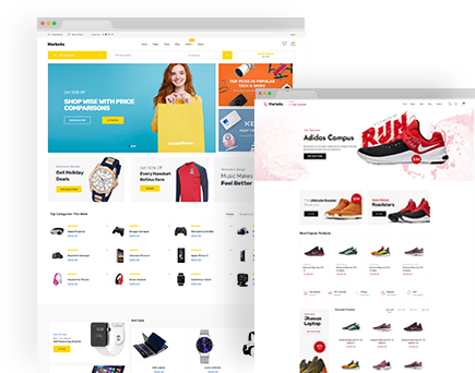 MarketPress – Multipurpose E-commerce &  Multivendor PSD Template