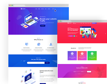 Upturn – SEO And Digital Marketing Agency Html Template