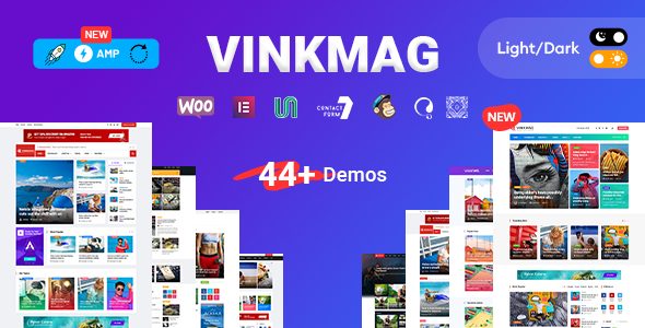 Vinkmag – AMP Newspaper Magazine WordPress Theme