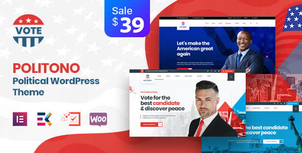 Politono – Political Election Campaign WordPress Theme
