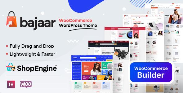 Bajaar – Highly Customizable WooCommerce WordPress Theme