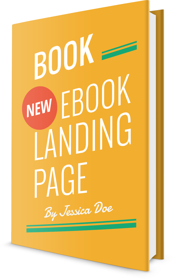 Responsive Ebook Landing Page Template